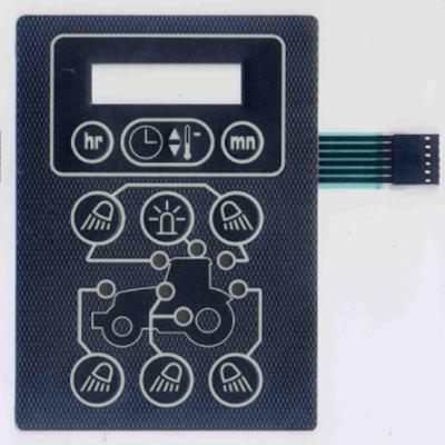 flat membrane switch
