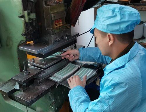 Die cutting manufacturing process of custom die cut
